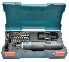 Bosch Go 3.6V Smart Cordless Screwdriver Set 33Bit USB Charging Cable & Adapter