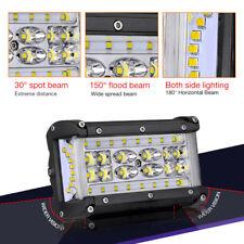 "2x6"" 264W Side Shooter LED Pod Work Light Bar Flood Driving OffRoad Truck Backup"
