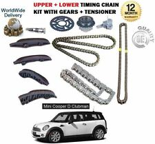 FOR BMW MINI CLUBMAN ONE D 1.6 DIESEL R55 2010--> UPPER + LOWER TIMING CHAIN KIT