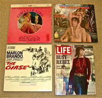 Early Jane Fonda Lps: Circle of Love/Game Is Over/The Chase + 1971 Life Magazine