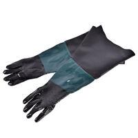"24"" Labour Protection Gloves For Sand Blasting Cabinet Sandblaster SL"