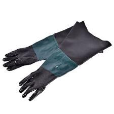 "24"" Labour Protection Gloves For Sand Blasting Cabinet Sandblaster ^F"