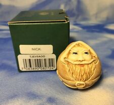 "Htf New Canadian Harmony Kingdom Roly Polys ""Nick"" Santa Box Figurine Tjevsa00"
