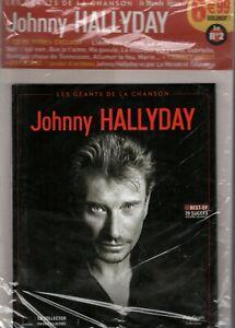 JOHNNY HALLYDAY - LES GEANTS DE LA CHANSON - CD - NEUF