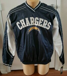 San Diego Chargers Light Pullover Jacket By NFL TEAM APPAREL! New W/Orig. Tags!