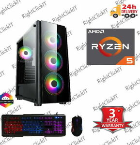 ULTRA FAST Gaming PC AMD Ryzen 5 3600  3.6GHz 6-Core 16GB 1TB NEW
