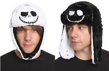 NEW The Nightmare Before Christmas REVERSIBLE Jack Pilot Bomber Hat Cap Beanie