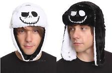 NEW The Nightmare Before Christmas REVERSIBLE Jack Pilot Bomber Hat Cap Beanie