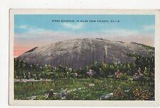 USA, Stone Mountain, 16 Miles from Atlanta Postcard, A809
