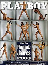 Playboy Dezember/12/2003    CARMEN ELECTRA + Playmate-Kalender!