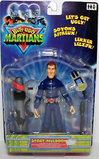 HASBRO BUTT UGLY MARTIANS 2001 STOAT MULDOON FIGURE NEW MOSC