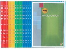 40 x Marbig A4 CopySafe Coloured Sheet Protectors (2 x 20pk)  2 x 25190