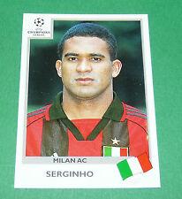 N°296 SERGINHO MILAN AC ITALIA PANINI FOOTBALL CHAMPIONS LEAGUE 1999-2000