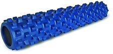 "Rumbleroller Blue Original Rumble Roller 31"" x 6"" Large Foam Roller! Free Ship"
