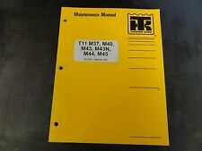 Thermo King T11 M37 M40 M43 M43N M44 M45 Maintenance Manual