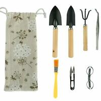 Bonsai Tree Growing Set Gardening Tools Kit 8 pcs High Quality Include Pruner Li