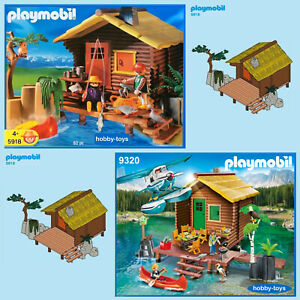 Playmobil 3826 5039 5918 9320 * HUNTERS LOG CABIN * Spares * SPARE PARTS SERVICE
