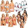 Women Push-up Bra Bandage Bikini Set Swimsuit Swimwear Bathing Suit Beachwear