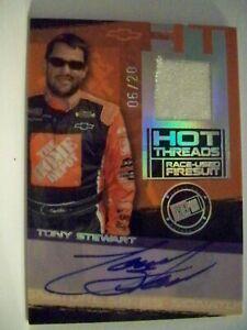 Tony Stewart 2006 Press Pass Premium Hot Threads Autograph