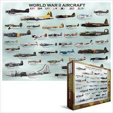 eg60000075 - Eurographics Puzzle 1000 pièces - 2nd guerre mondiale Aircraft
