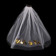Veil Bride To Be Favor Bachelorette Party Bridal Shower Hen Party Wedding Decor
