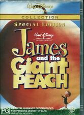 James And The Giant Peach (DVD, 2003)  Paul Terry, Joanna Lumley