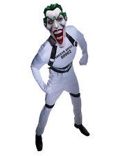"""Joker para Hombre Disfraz De Batman Joker straight jacket, STD, CHT 44"""",WST 30-34"""", 33"""" de pierna"""