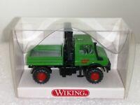 """Wiking ( 647/1 ) - Unimog U 1700 mit Ladekran """" WIMO BAU """" ,  OVP"""