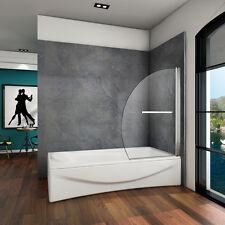 100x150cm Badewannenaufsatz Badewanne Nano-glas Duschwand duschabtrennung B-D2H