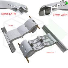 Security Locking Strap Roller Garage Door Profile 55mm Auto Lock Catch 3SEG WHT