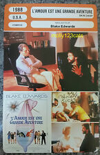 US Blake Edwards Movie Skin Deep John Ritter French Film Trade Card