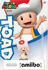 TOAD Amiibo Figure Nintendo Super Mario Series Red Base