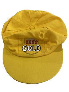 XXXX GOLD Baggy Green Yellow Beer Cricket Cap Hat Australian QLD Beer