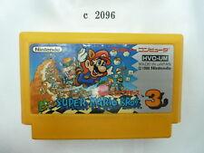 c2096 Super mario bros 3 Famicom Japanese NES FC Tested! Nintendo Cartridge