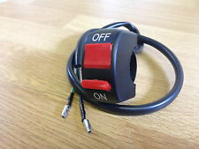 UNIVERSAL ON OFF STOP KILL SWITCH TRIALS BIKE ENDURO MOTORCYCLE