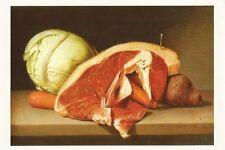 Postcard Raphaelle Peale Still Life with Steak Munson-Williams-Proctor Utica MNT