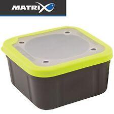 Fox Matrix Grey Lime Bait Boxes Solid Top - Köderbox, Angelbox für Angelköder