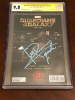 Michael Rooker Guardians of the Galaxy Prelude #2 Signed Autograph CGC SS 9.8
