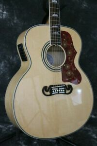 SR-RJ-200C electric acoutic guitar 43''jumbo solid spruce top Bone Nut&saddles