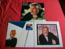 KENNY ROGERS  COLLECTION OF 3 LP'S - WHAT ABOUT/ EYES THAT SEE/ HEART OF- ALL EX