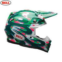 Bell MX Moto-9 Flex Motocross Helmet Mcgrath Green Replica Size X Large