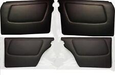 Türverkleidungen-Panel-Türpapp für Mercedes W123 Limousinen-Satz 4 stück-Schwarz