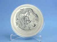 Australien 10 Dollars 2012 Lunar II Year of the Dragon  10 oz 999 Silber *st*