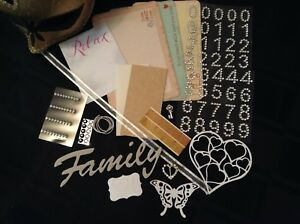 Collage Pack - Cardmaking & Scrapbooking - Family Home Themed