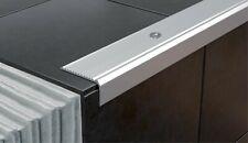 44x20mm 1M  Anodised Aluminium Stair Nosing Edge Trim Step Nose Edging Nosings