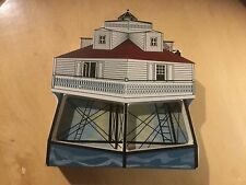 Pre Owned Shelia's Collectibles, 1993. Thomas Point Light, Chesapeake Bay, Md.