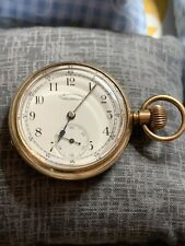 Superb Waltham Pocket Watch in a gold filled hunter case.