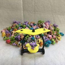 5pcs Littlest Pet Shop LPS Mini Baby Figure Toy Send Random+Yellow Accessories