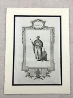 1791 Print King Henry I of England Norman Royalty Original Antique Engraving