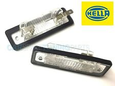 BMW E30 E12 E28 E24 E23 E26 LICENCE NUMBER PLATE LIGHT LAMP HELLA SET (2 pieces)